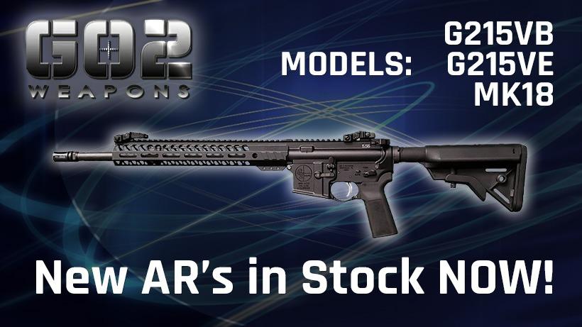 GO2 AR's IN STOCK!