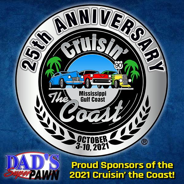 Proud Sponsors of the 2021 Cruisin' the Coast!